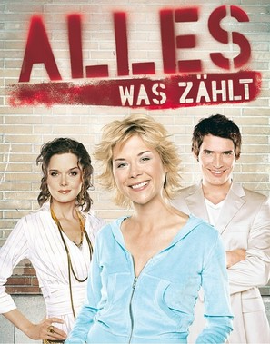 """Alles was zählt"" - German Movie Poster (thumbnail)"