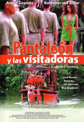 Pantaleón y las visitadoras - Peruvian Movie Poster (thumbnail)