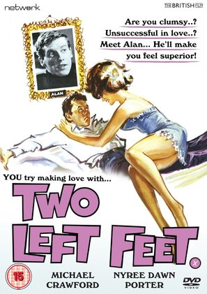Two Left Feet - British DVD movie cover (thumbnail)