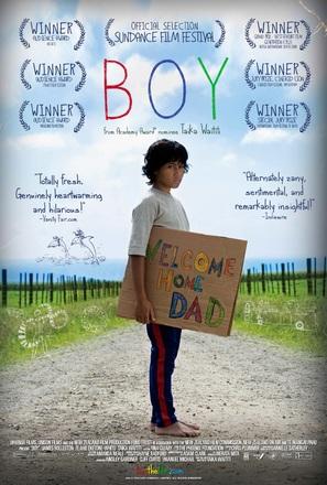 Boy - New Zealand Movie Poster (thumbnail)