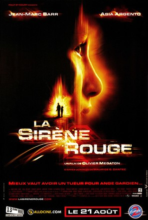 La sirène rouge - French Movie Poster (thumbnail)