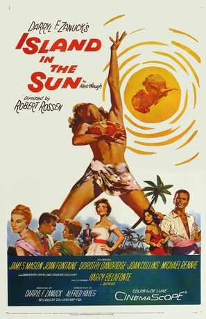 Island in the Sun - Movie Poster (thumbnail)