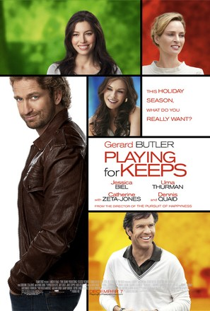 Playing for Keeps - Movie Poster (thumbnail)