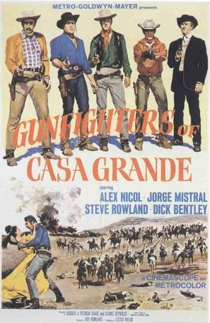 Gunfighters of Casa Grande - Movie Poster (thumbnail)