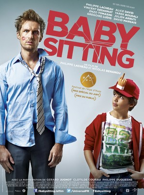 Babysitting - French Movie Poster (thumbnail)