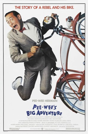 Pee-wee's Big Adventure - Movie Poster (thumbnail)