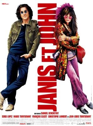 Janis Et John - French Movie Poster (thumbnail)