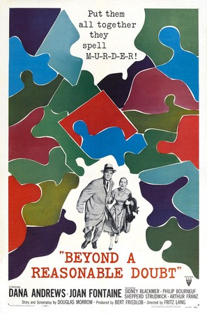 Beyond a Reasonable Doubt - Movie Poster (thumbnail)