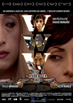 WWW: What a Wonderful World - Spanish Movie Poster (thumbnail)