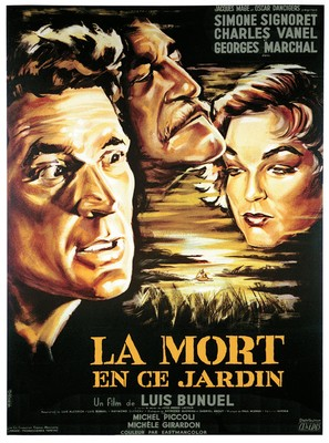 La mort en ce jardin - French Movie Poster (thumbnail)