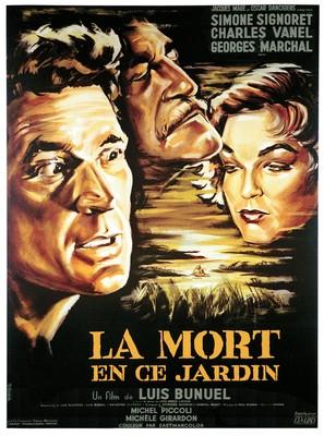La mort en ce jardin - French Movie Poster (thumbnail)