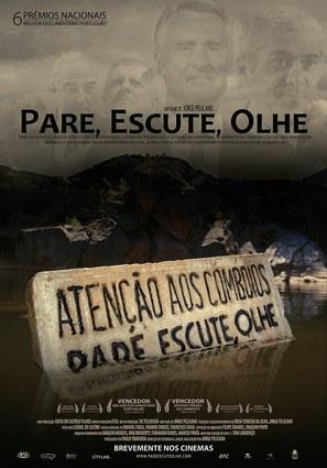 Páre, Escute, Olhe - Portuguese Movie Poster (thumbnail)