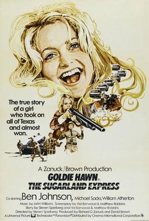 The Sugarland Express - British Movie Poster (thumbnail)