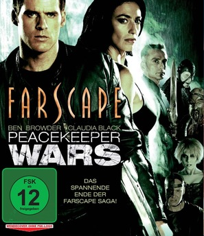 """""""Farscape: The Peacekeeper Wars"""" - German DVD movie cover (thumbnail)"""