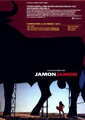 Jamón, jamón - Spanish Movie Poster (thumbnail)