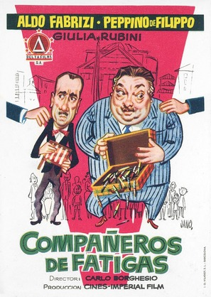 I due compari - Spanish Movie Poster (thumbnail)