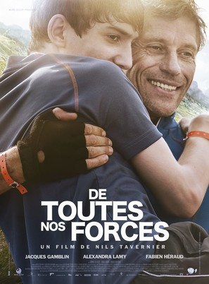De toutes nos forces - French Movie Poster (thumbnail)