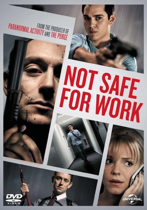 Not Safe for Work - DVD movie cover (thumbnail)