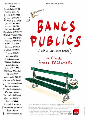 Bancs publics (Versailles rive droite) - French Movie Poster (thumbnail)