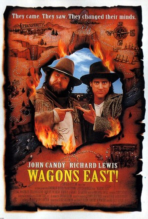 Wagons East - Movie Poster (thumbnail)