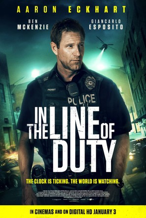 Line of Duty - British Movie Poster (thumbnail)