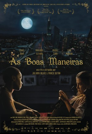 As Boas Maneiras - Brazilian Movie Poster (thumbnail)