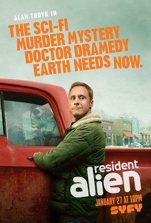 """Resident Alien"" - Movie Poster (thumbnail)"