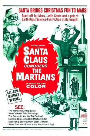 Santa Claus Conquers the Martians - Movie Poster (thumbnail)