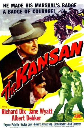 The Kansan - Movie Poster (thumbnail)