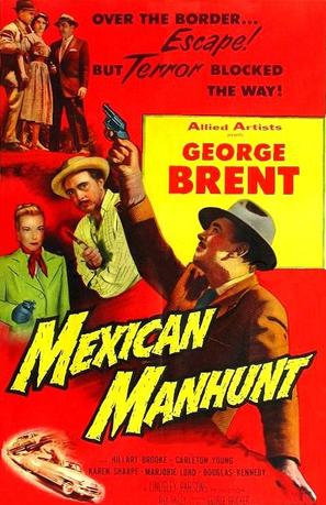 Mexican Manhunt - Movie Poster (thumbnail)
