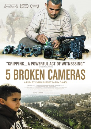 Five Broken Cameras - Movie Poster (thumbnail)