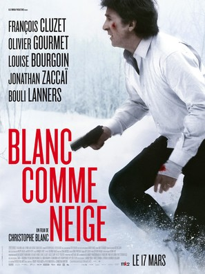 Blanc comme neige - French Movie Poster (thumbnail)