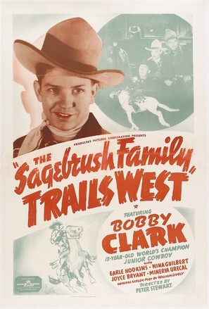 The Sagebrush Family Trails West - Movie Poster (thumbnail)
