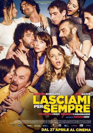 Lasciami per sempre - Italian Movie Poster (thumbnail)