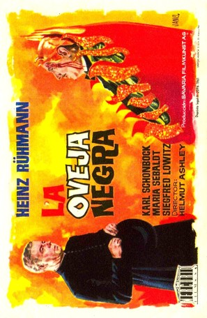 Das schwarze Schaf - Spanish Movie Poster (thumbnail)