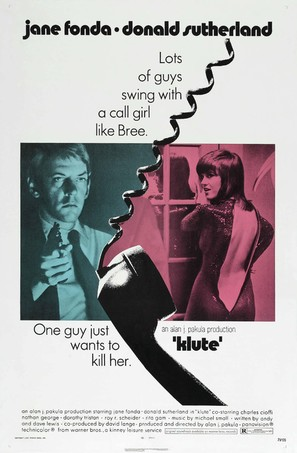 Klute - Movie Poster (thumbnail)