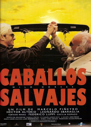 Caballos salvajes - Spanish Movie Poster (thumbnail)