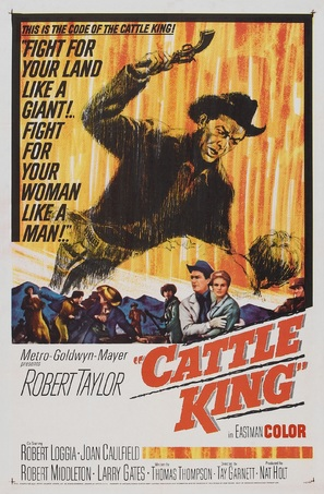Cattle King - Movie Poster (thumbnail)