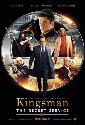 Kingsman: The Secret Service - Theatrical movie poster (thumbnail)