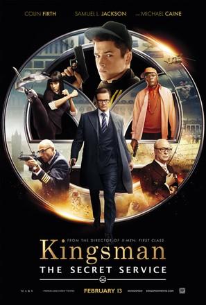 Kingsman: The Secret Service - Theatrical poster (thumbnail)