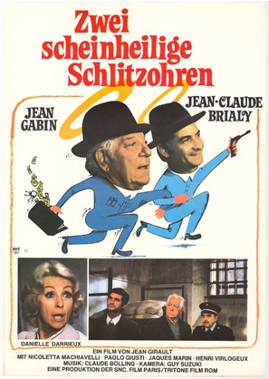 L'année sainte - German Movie Poster (thumbnail)