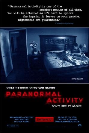 Paranormal Activity - Movie Poster (thumbnail)