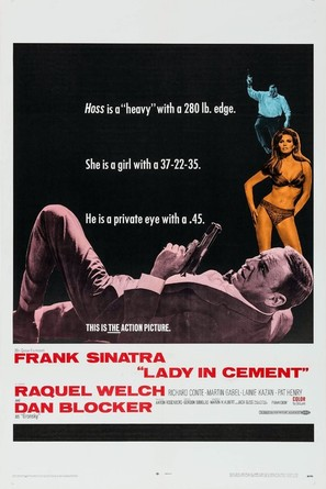 Lady in Cement - Movie Poster (thumbnail)