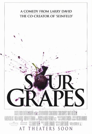 Sour Grapes - Movie Poster (thumbnail)