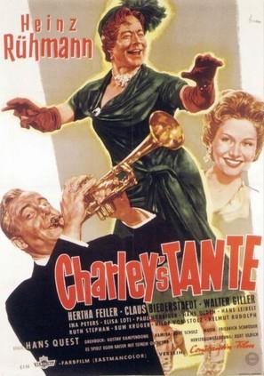 Charleys Tante - German Movie Poster (thumbnail)