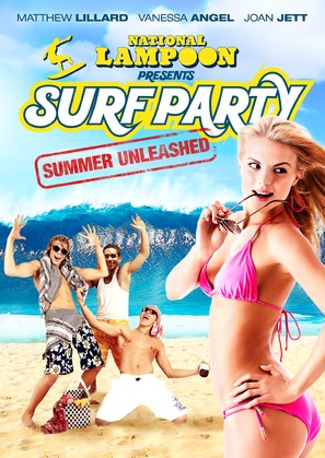 National Lampoon Presents: Surf Party - Canadian DVD movie cover (thumbnail)