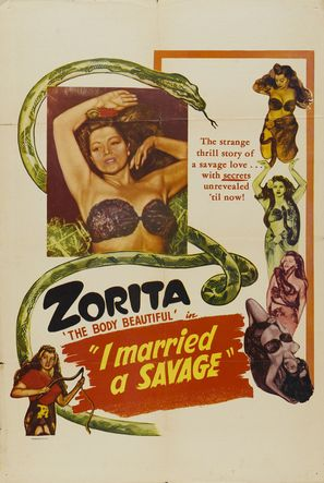 I Married a Savage - Movie Poster (thumbnail)