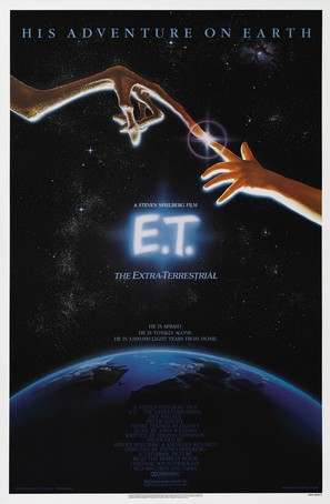 E.T.: The Extra-Terrestrial - Theatrical poster (thumbnail)