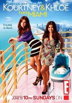 """""""Kourtney & Khloe Take Miami"""" - Movie Poster (thumbnail)"""