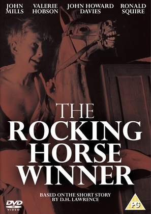The Rocking Horse Winner - British DVD cover (thumbnail)